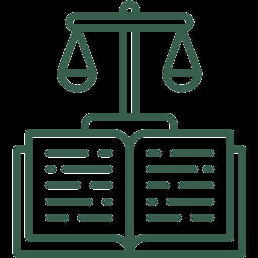 ikona waga książka - prawo cywilne